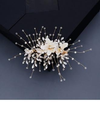 Damer Vakkert Crystal/Rhinestone/Imitert Perle Hårnåler med Rhinestone/Venetianske Perle/Crystal (Selges i ett stykke)