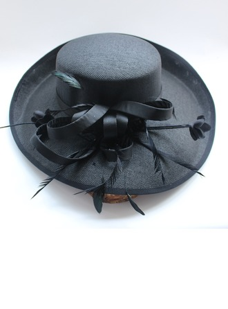 Dames Coton Chapeaux de type fascinator