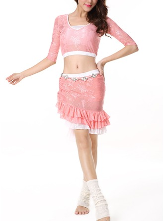 Women's Dancewear Lace Practice Outfits