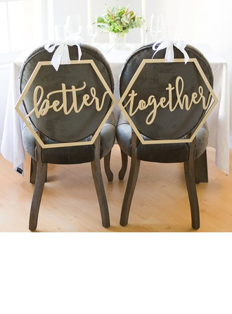Klassisk stil/Vakkert Elegant Tre Wedding Sign