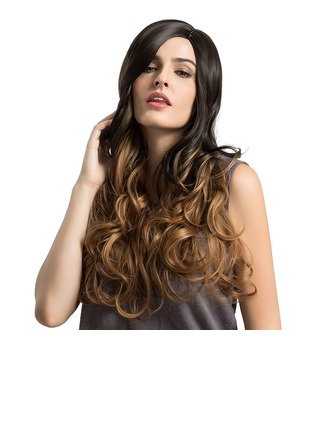 Loose Wavy Synthetic Hair Capless Wigs 390g