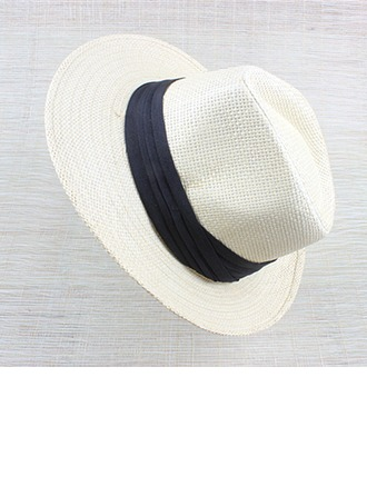 Unisex Fashion Rattan Straw Straw Hats/Panama Hats/Kentucky Derby Hats