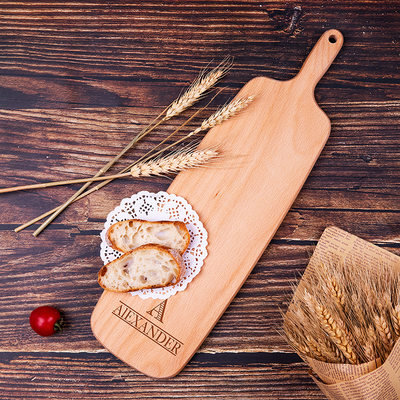Groom Gifts - Personalized Modern Wooden Cutting Board