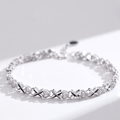 Ladies' Charming 925 Sterling Silver Bracelets For Mother/For Friends