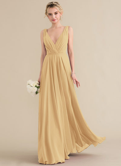 55902185397 Gold Bridesmaid Dresses