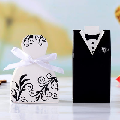 Groom Gifts - Fashion Paper Gift Box/Bag (Set of 12)
