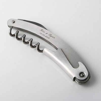 Groom Gifts - Personalized Classic Alloy Bottle Opener