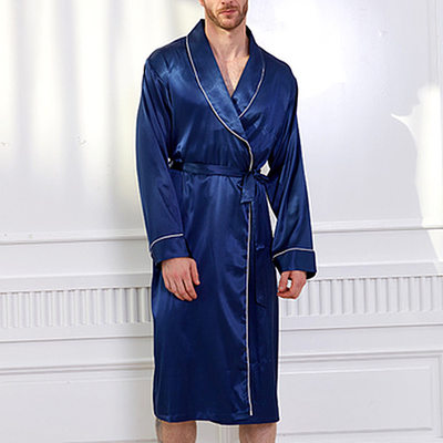 Groom Gifts - Modern Classic Charmeuse Robe