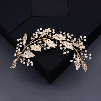 Ladies Beautiful Rhinestone/Alloy Headbands With Rhinestone (Sold in single piece)
