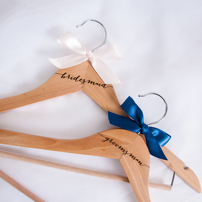 Bridesmaid Gifts - Wooden Hanger