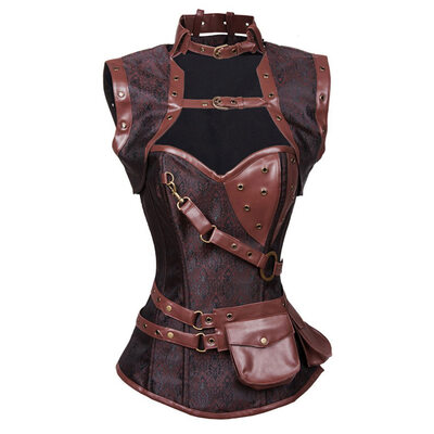 Women Elegant/Charming/Gothic Style Polyester/Chinlon Tanks And Camis/Waist Cinchers/Corset Shapewear