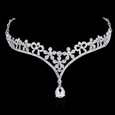 Ladies Gorgeous Rhinestone/Alloy Forehead Jewelry With Rhinestone