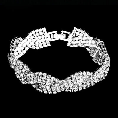 Ladies' Beautiful Alloy/Rhinestones Bracelets