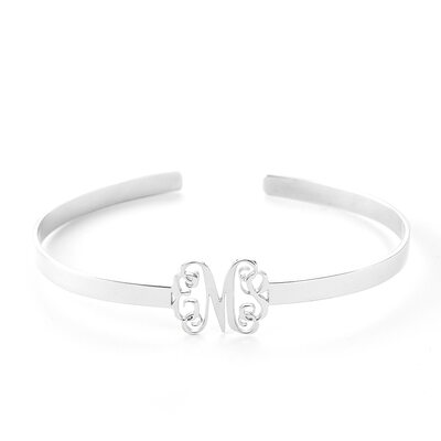 Custom Platinum Plated Statement Bangles & Cuffs - Christmas Gifts For Her