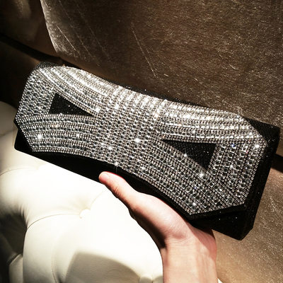 Charming Crystal/ Rhinestone Clutches/Satchel