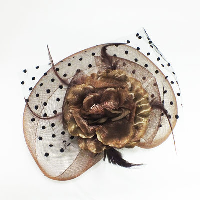 Hottest Artificial Silk/Feather/Tulle Forehead Jewelry