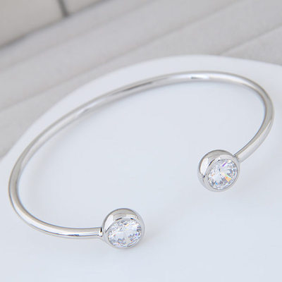 Exquisite Alloy/Zircon Ladies' Bracelets