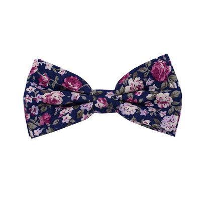 Floral Cotton Bow Tie