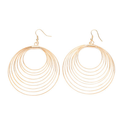 Fashionable Alloy Ladies' Earrings