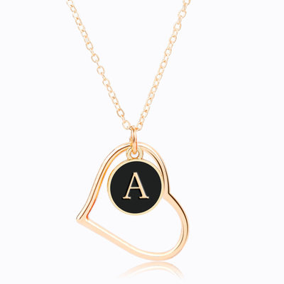 Nice Alloy Initial Necklaces Necklaces For Bridesmaid