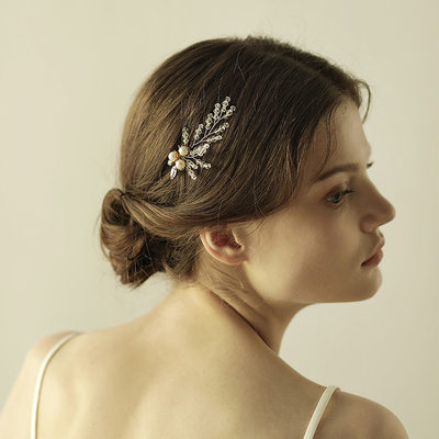 Elegant Crystal/Alloy Hairpins (Sold in single piece)