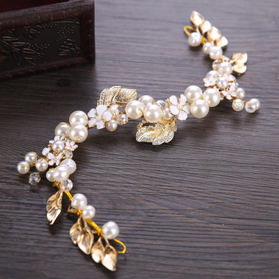 Lovely Alloy Hairpins With Pearl