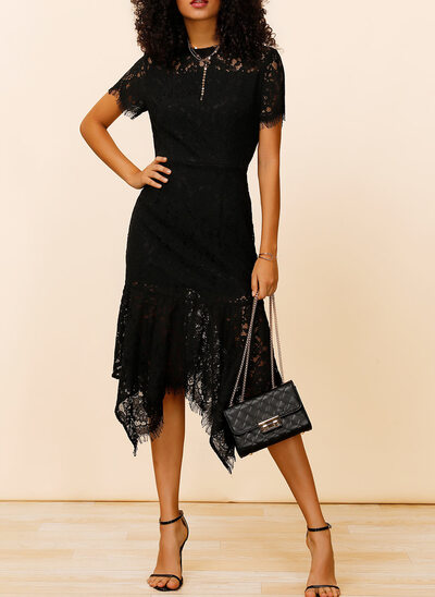 Sheath/Column Knee-Length Cocktail Dress