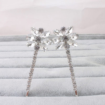 Ladies Classic Rhinestone Hairpins (Sold in single piece)