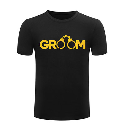 Groom Gifts - Modern Cotton T-Shirt