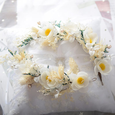 Ladies Special Silk Flower Headbands