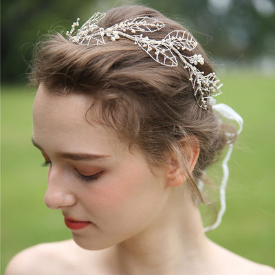 Ladies Beautiful Rhinestone/Beads Headbands (Sold in single piece)