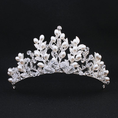 Fashion Imitation Pearls Tiaras