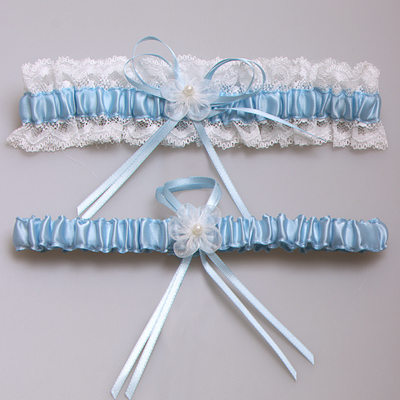 Satin Romantic Bridal/Feminine Garters