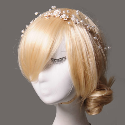 Elegant Alloy/Imitation Pearls Headbands