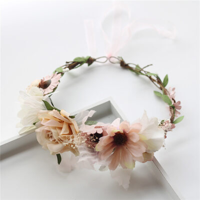Beautiful Silk Flower/Simulation rattan Headbands