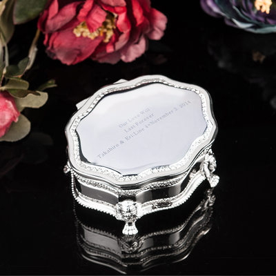 Spersonalizowana Stop Ladies ' Jewelry Box