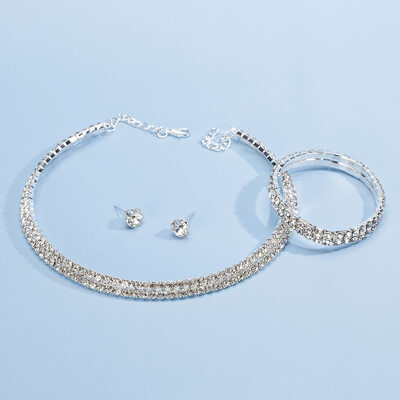 Legering/Strass Damer' Smycken Sets