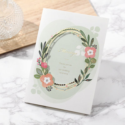 Personalized Classic Style/Modern Style Gate-Fold Invitation Cards