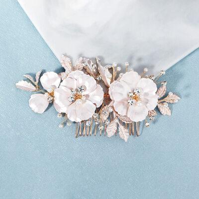 Dámy Glamourous Drahokamu/Faux Pearl Jehlice do vlasů S Drahokamu (Prodává se jako jeden kus)