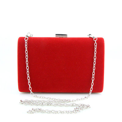 Elegant Suede Clutches/Satchel
