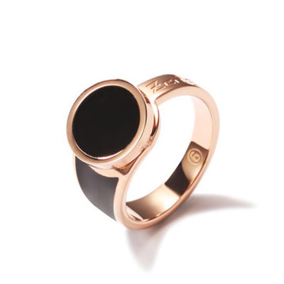 Personalized Ladies' Hottest Rose Gold Plated Engraved Rings For Bridesmaid/For Friends/For Couple