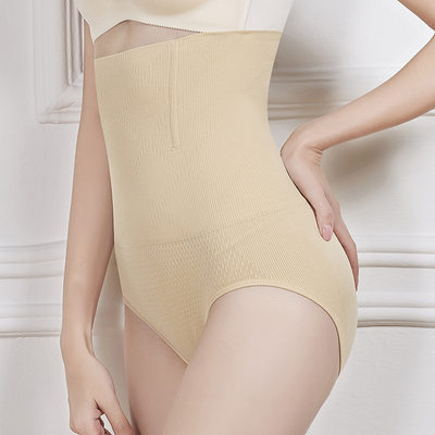 Elegant Chinlon / Nylon Breathability / Butt Lift High Waist Panty Shapers Shapewear for kvinner