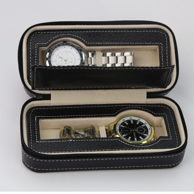 Groomsmen Presenter - Modern Läder Watch Box