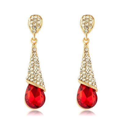 Unique Alloy/Rhinestones/Crystal Ladies' Earrings