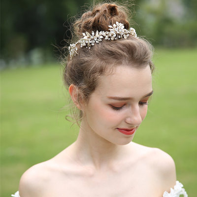 Ladies Beautiful Crystal/Rhinestone Tiaras With Rhinestone/Crystal (Sold in single piece)