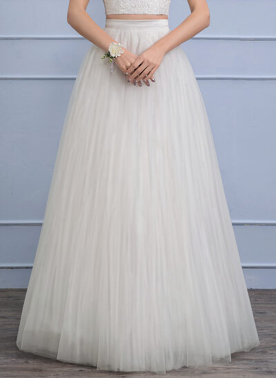 Separates Floor-Length Tulle Wedding Skirt (002110496)