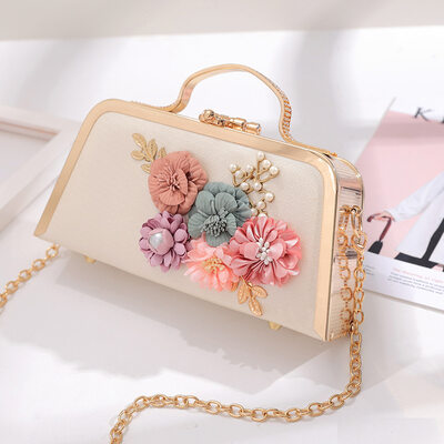 Elegant/Classical/Pretty PU Top Handle Bags/Evening Bags