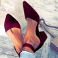 Women's Fabric Stiletto Heel Sandals With Others shoes