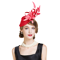 Ladies' Special Cambric With Feather Fascinators/Tea Party Hats