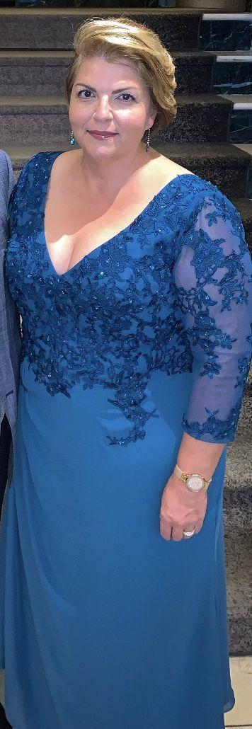 Kleid Abiball Mutter